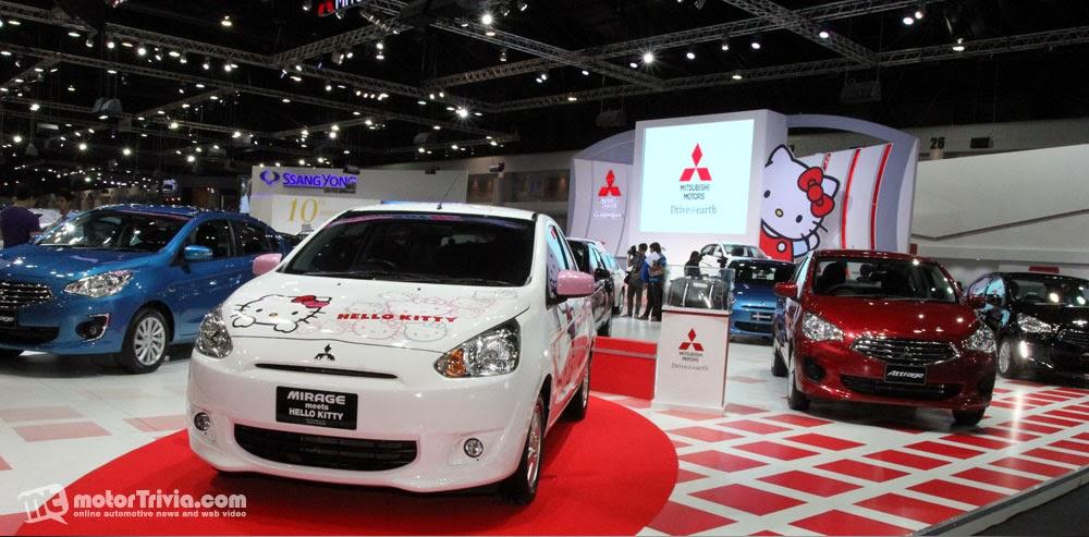 Hello Kitty Loft Mitsubishi Motors Thailand Appoints