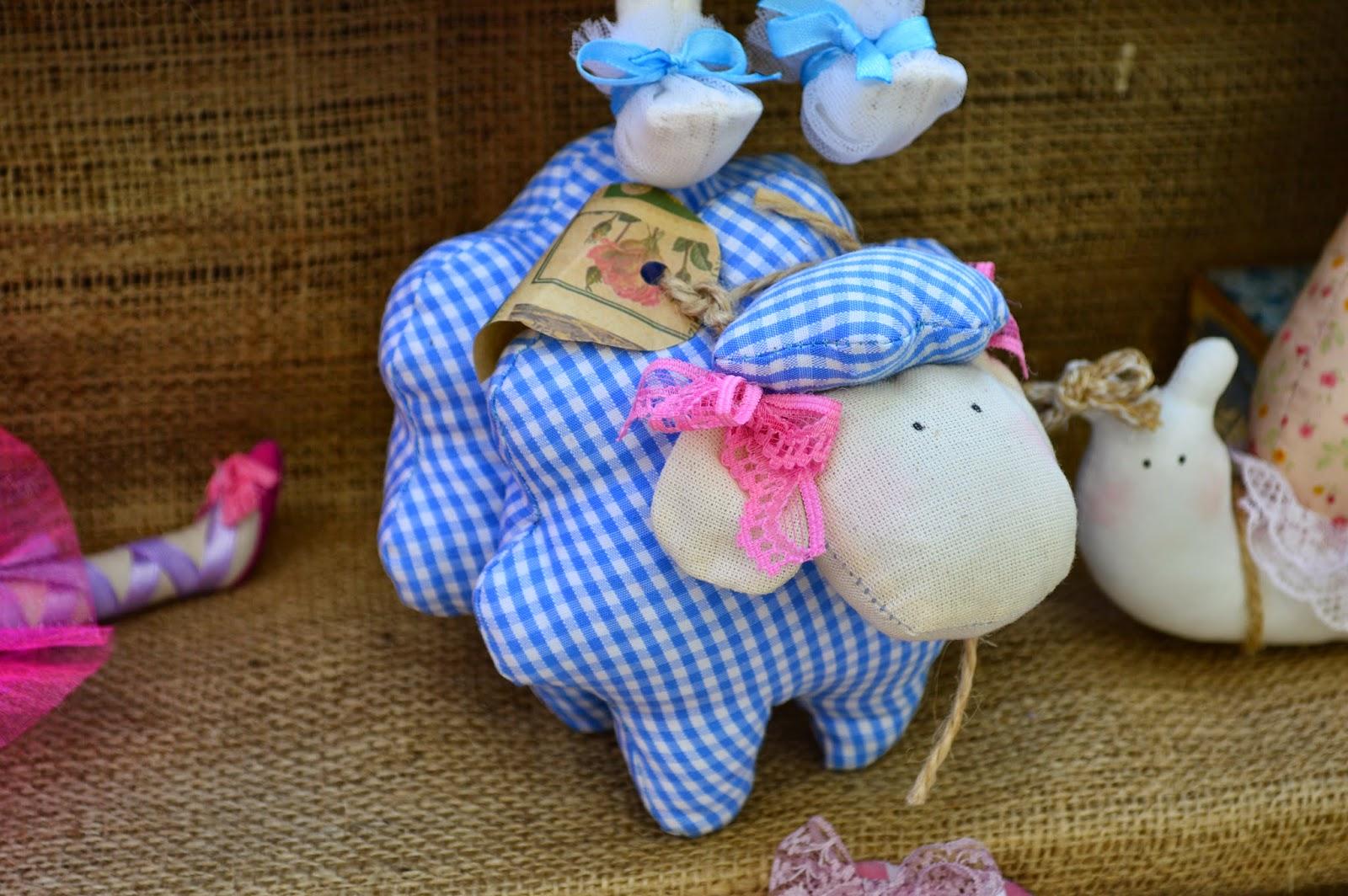 Маленькие текстильные игрушки