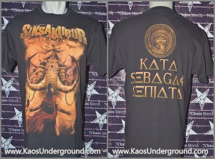 band siksa kubur jakarta death metal kaosunderground.com SevenChaos Merch