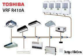 Công ty Cổ phần IBF Việt Nam : cung cấp và lắp đặt điều hòa trung tâm Toshiba