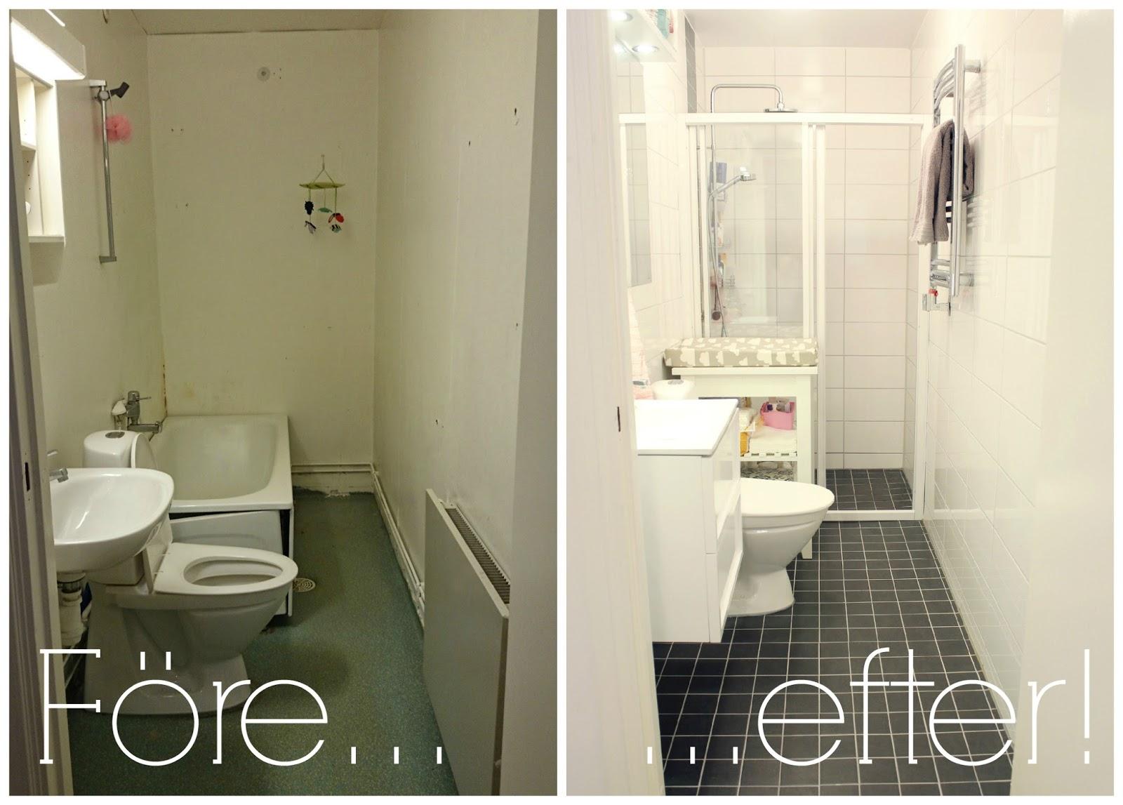 fröken wesström: Nya badrummet
