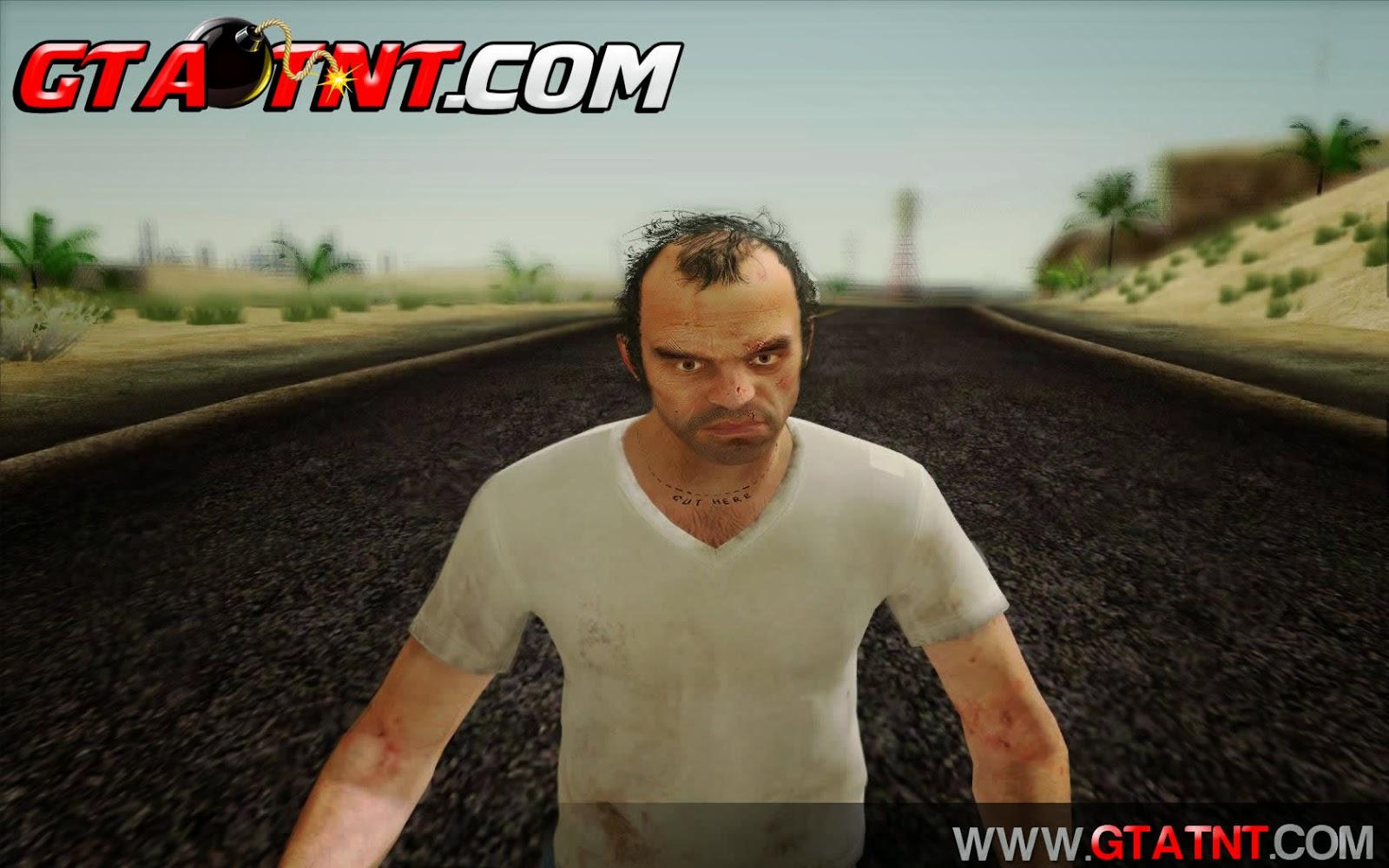 GTA SA - Skin Trevor do GTA 5