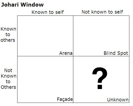 self analysis through johari window
