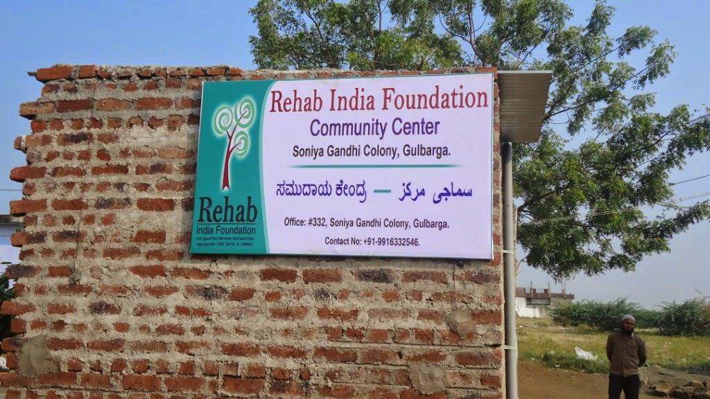 Community Center Inauguration in Sonia Gandhi Colony