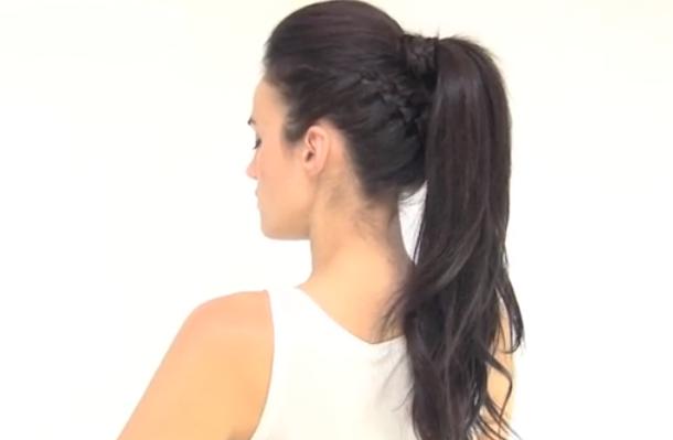 Peinados de lado muy casual YouTube - Peinados Con Pelo De Lado