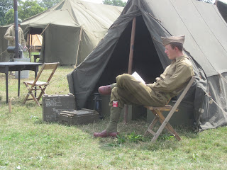 D-Day WWII Reenactment, Allied Camp