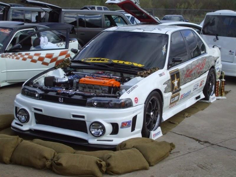 Foto Modifikasi Honda Accord 1991
