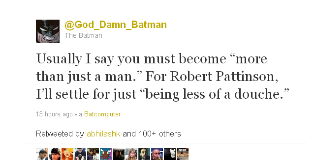 God_Damn_Batman from November 16, 2011
