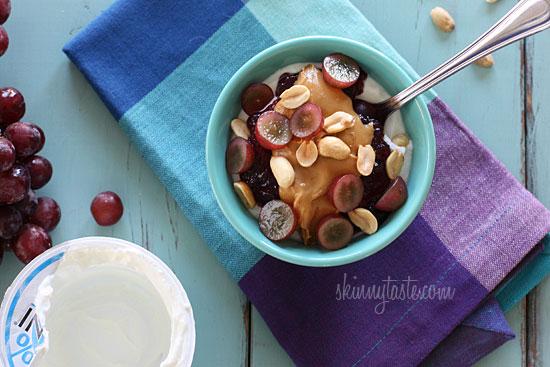 PB + J Yogurt | Skinnytaste