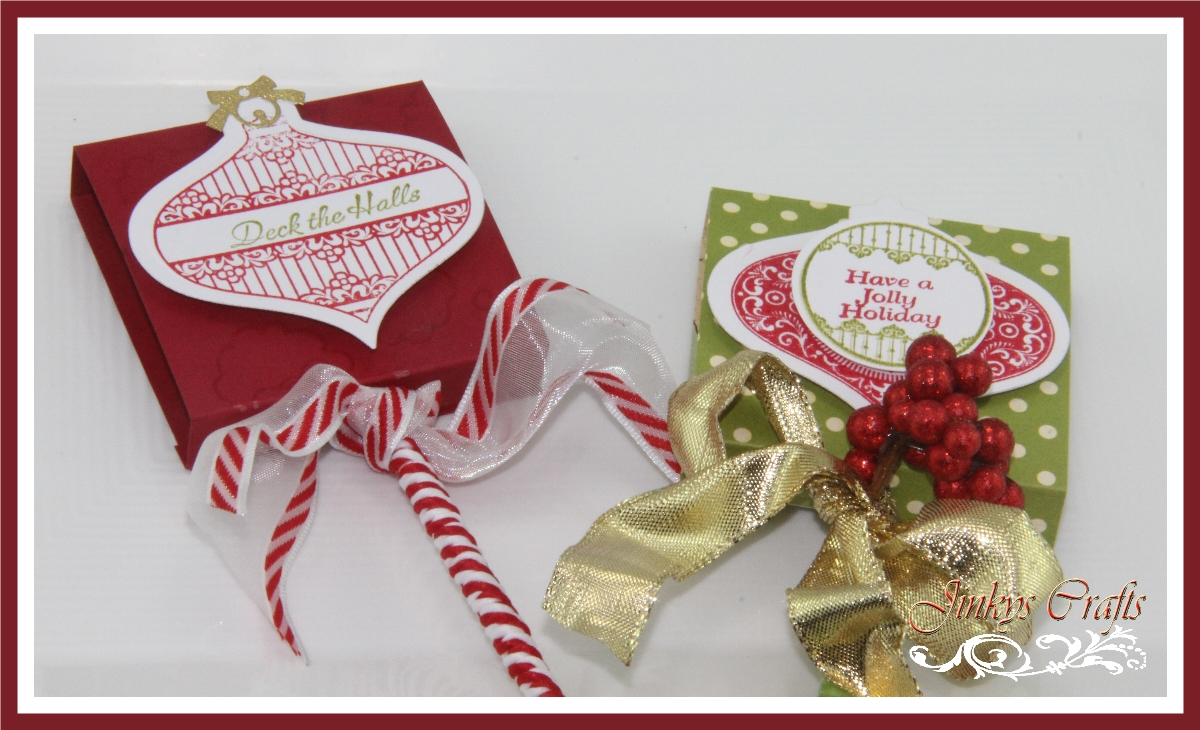 Jinky s crafts designs christmas lollipop favor box