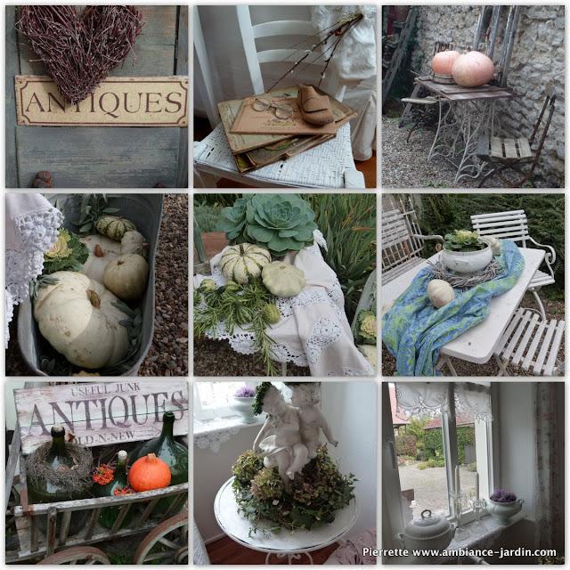 Ambiance-Jardin: Magnifique Déco Shabby-chic De Petra