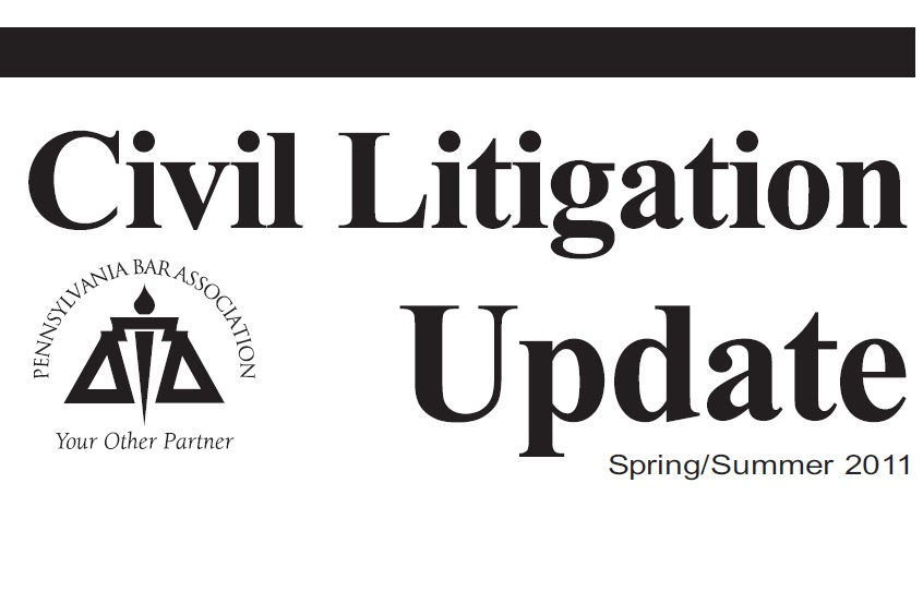New PBA Civil Litigation846
