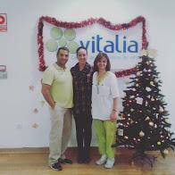 Raúl Moreno, Rebeca García y Cristina Casanova, Premios Vitalia 2016 como Mejores Profesionales