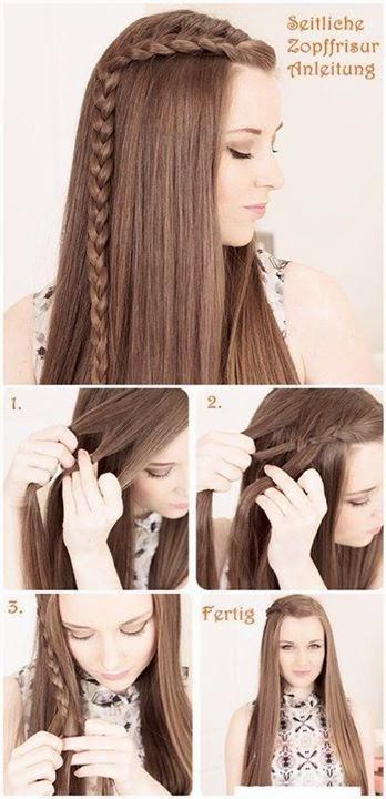 Step By Step Hair Styles Tutorials..