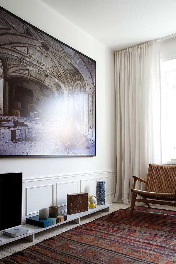 studio karin v ning med perfekt klassisk vintage modern mix. Black Bedroom Furniture Sets. Home Design Ideas
