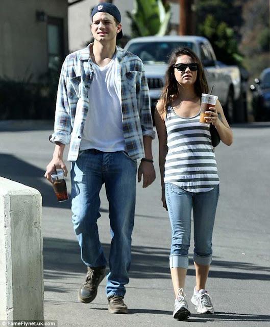 Mila Kunis embarazada Gorda