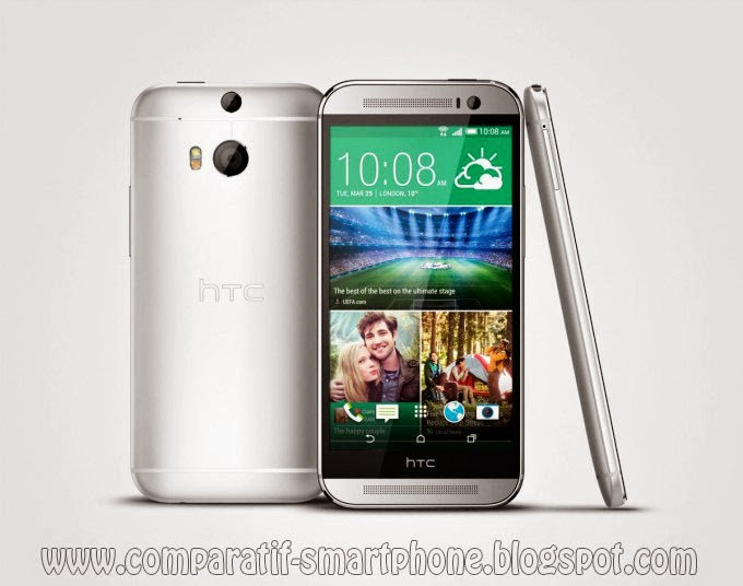 HtC One M8, Meilleur martphone de lannée 2014, HTC One M8 test et comparition, HTC One M8 Details