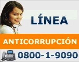 LINEA ANTICORRUPCIÓN
