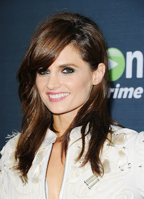 Stana Katic attends the Hand of God screening in LA