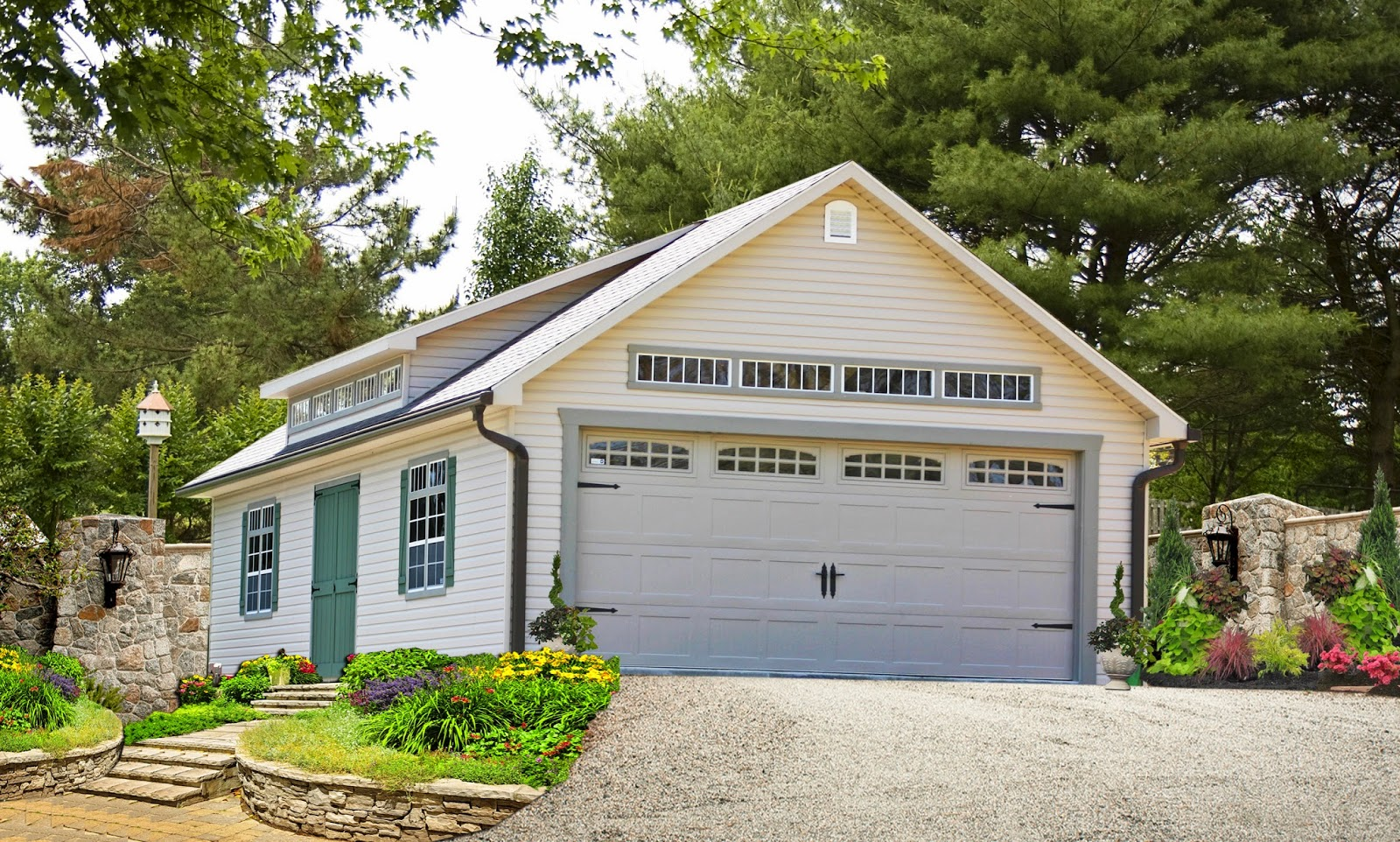 Storage sheds and garages long island ny for Detached garage kits