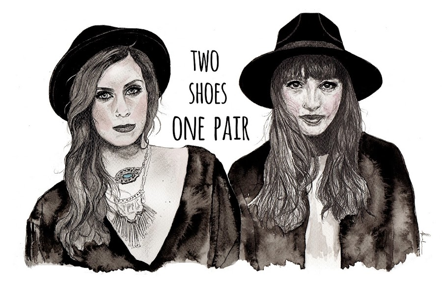 Two Shoes, One Pair