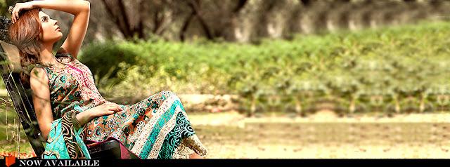 Gul Ahmed Spring Lawn 2012