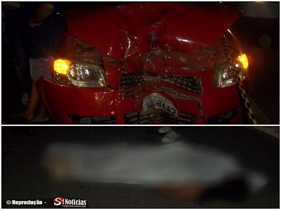 Acidente entre moto e carro deixa mulher de 34 anos morta na BR-232 em Salgueiro – PE