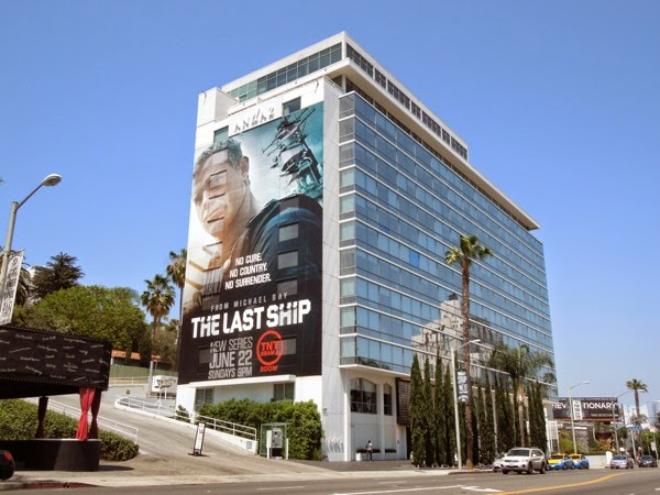 The Last Ship giant series premiere billboard