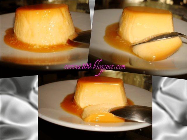 Испанский десерт флан рецепт 18