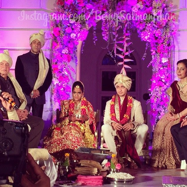 Salman Khans sister Arpita Khan Wedding pictures Pakistani Showbiz ...