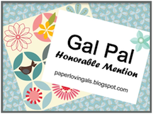 Paper Lovin' Gals Honourable Mention Badge