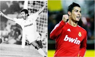 Cristiano superó la marca goleadora de Juanito