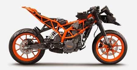 sasis motor KTM