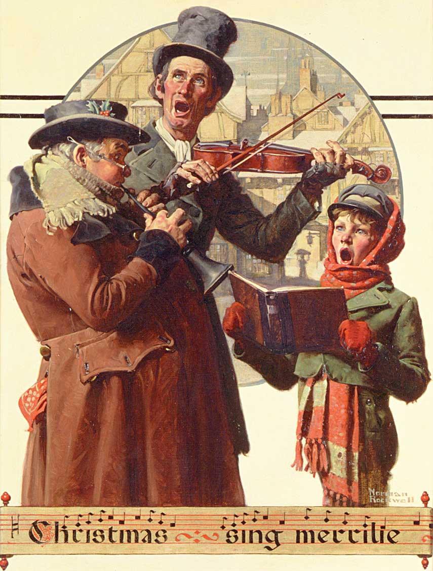 Christmas Trio, 1923