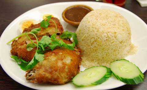Thai Style Fried Chicken with Tamarind ginger Sauce