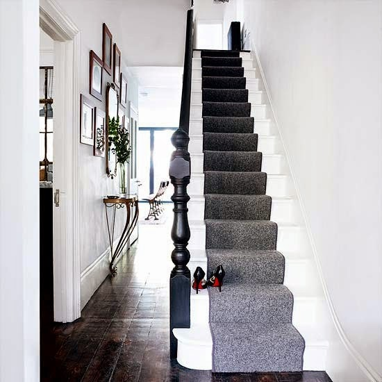 My victorian terrace refurb hallway decorating ideas Design ideas for hallways and stairs