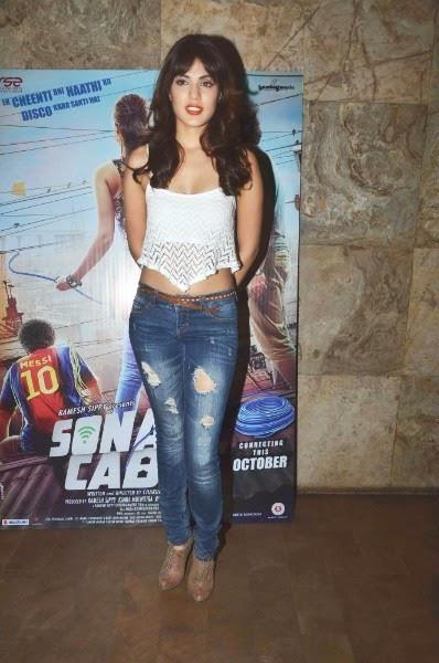 Rhea Chakraborty at Sonali Cable trailer launch