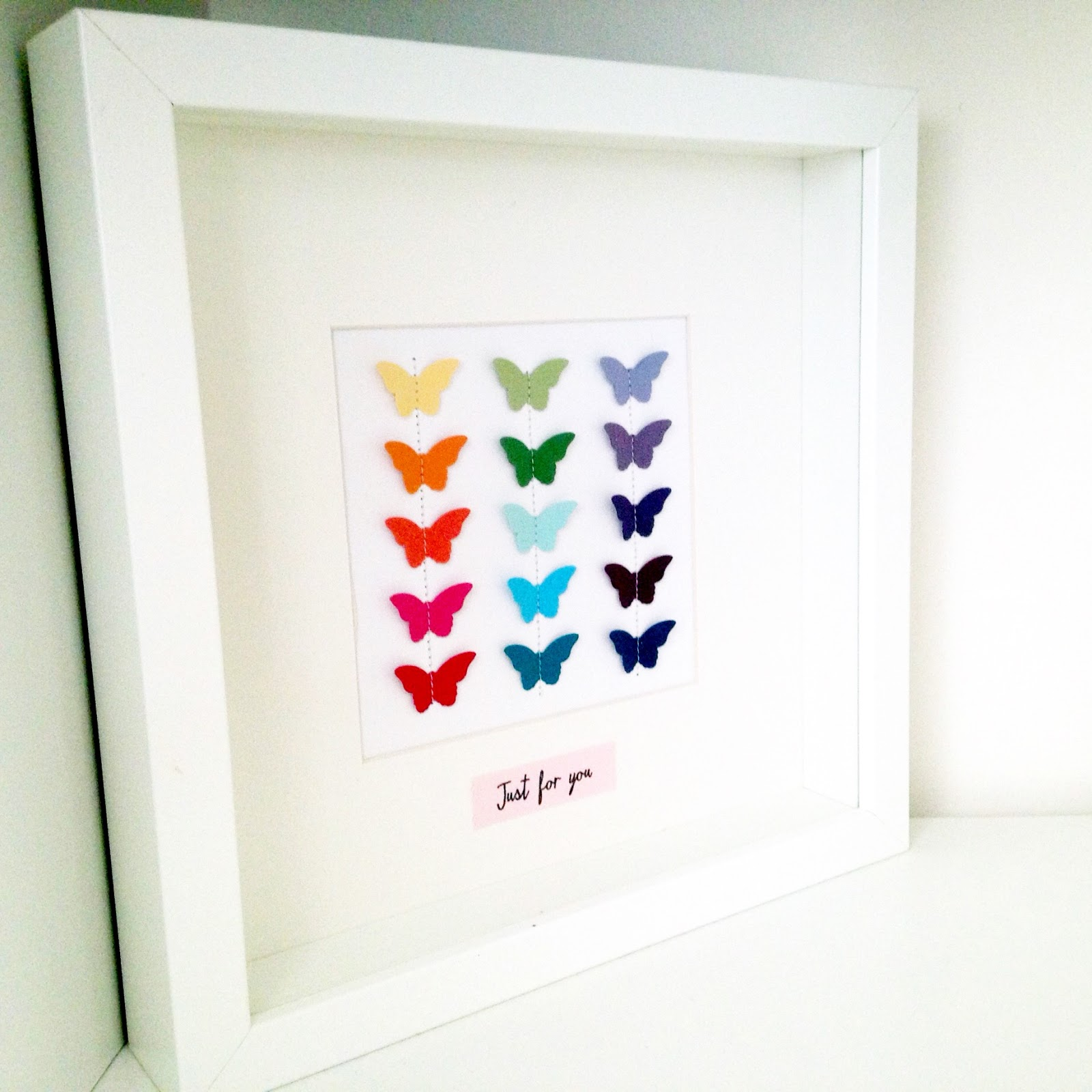 2015 sarah lancaster independent demonstrator france uk and europe rainbow of butterflies tutorial jeuxipadfo Choice Image