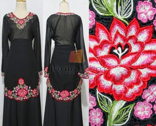 Foto Model Baju Kebaya Nyonya 2014
