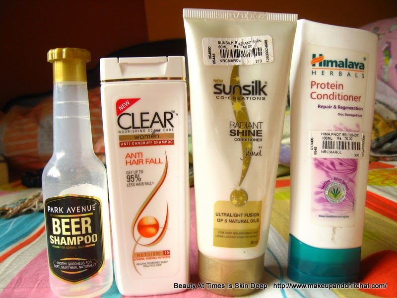 Hair products in India