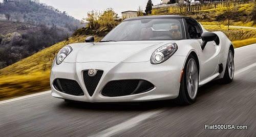 Alfa Romeo 4C Spider in Italy