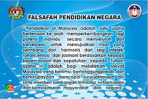 FALSAFAH PENDIDIKAN NEGARA