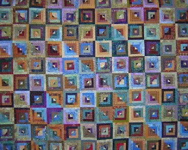 NEW Log Cabin Quilt Photo Note Cards