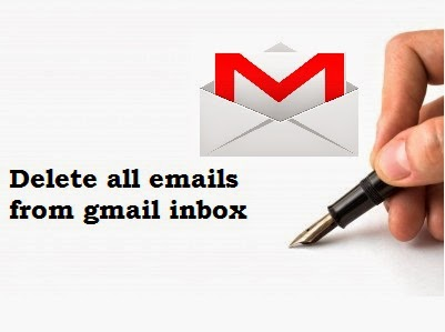 How To Delete All Emails From Gmail Inbox at Once