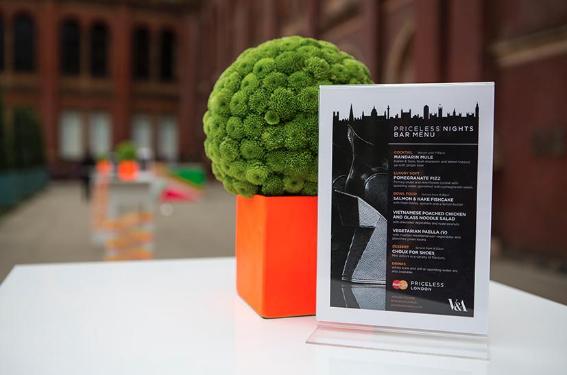 Mastercard Priceless London Event V&A