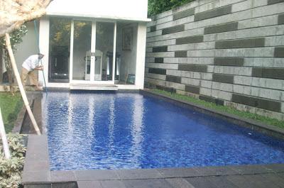ukuran ideal kolam renang rumah pribadi