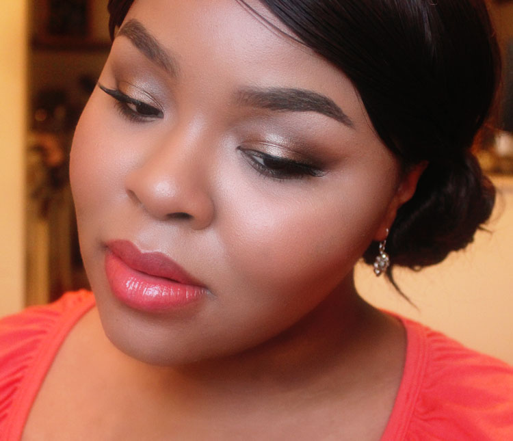 Prom Makeup, Naked Palette, Elegant Makeup, Coral Lipstick