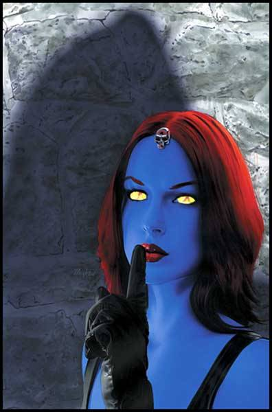 Mystique Character Review (Her face)