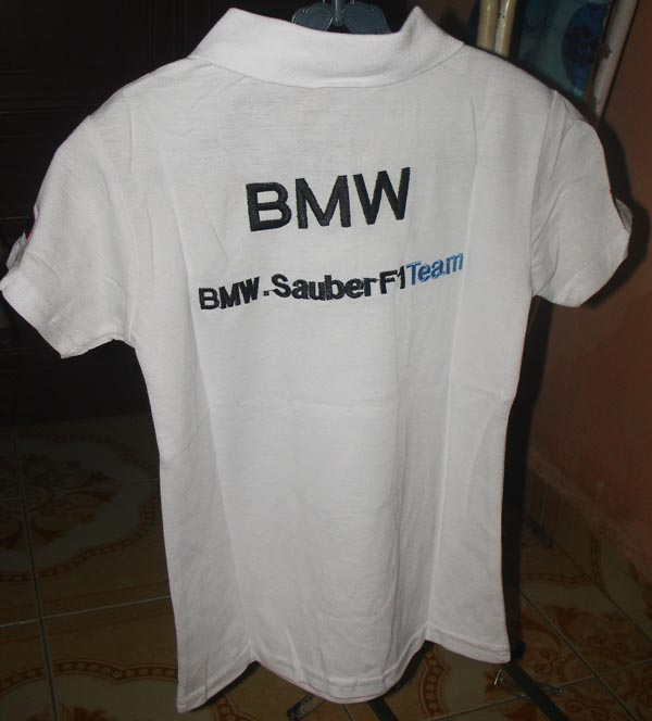 T shirt collar bmw sauber kedai pakaian kanak kanak online for Bmw t shirt online