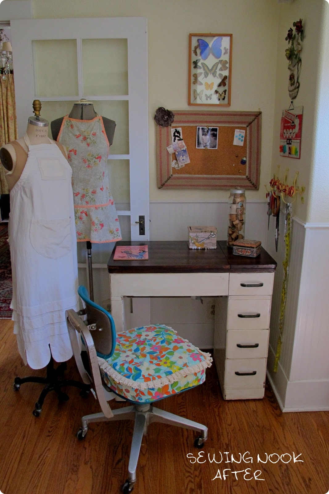 New Sewing Nook Reveal
